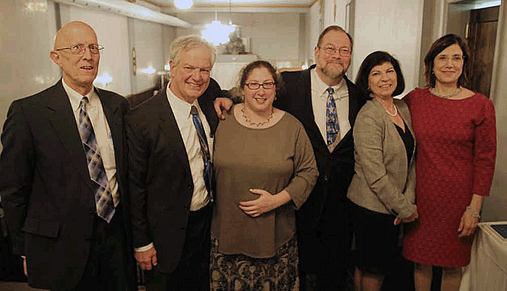 John Pietrovito, Bill Carlucci, Michele Frey, David Keller Trevaskis, Anne N. John, and Angela Lovecchio