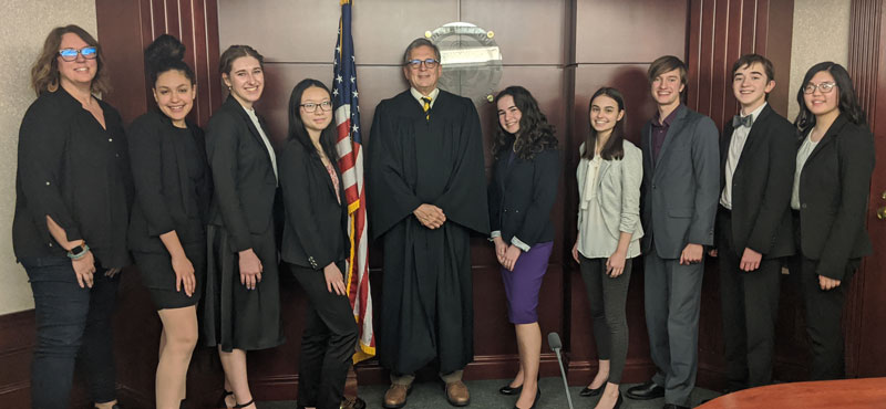 State College Mock Trial team