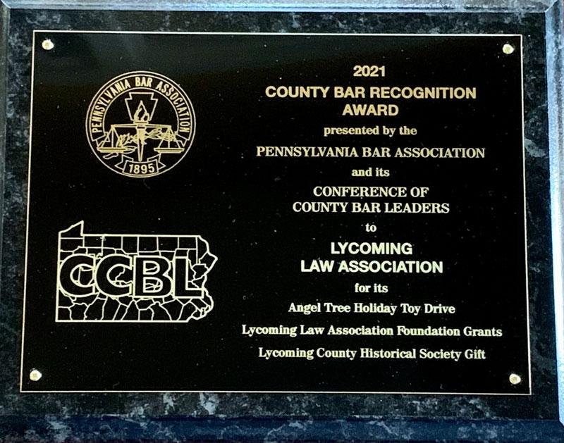 CCBL Award