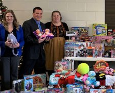 Angel Tree Drive Brings in the Toys