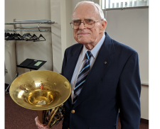 Retired Attorney Tooting His Own Horn