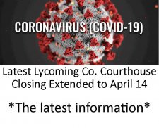 Coronavirus - COVID-19 - Impact on Lycoming County Lawyers