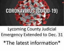 Update - Coronavirus​ - COVID-19 - Impact on Lycoming County Lawyers