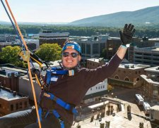 LLA Attorneys Rappel for Charity