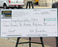 LLA Foundation Grants Funds to CASA