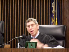Judge Brown Reinstated to Bench - Will Serve in Lycoming County