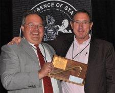 Lovecchio Receives Golden Crowbar Award